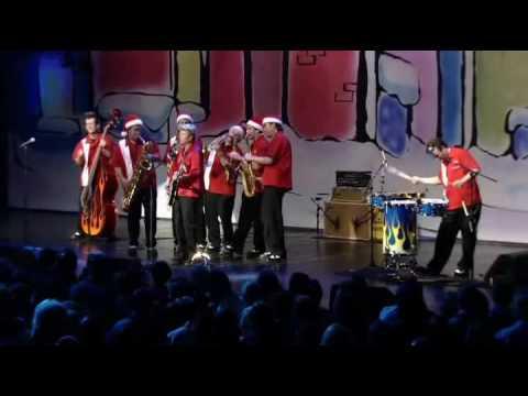 Blue Christmas - Brian Setzer Orchestra - HQ