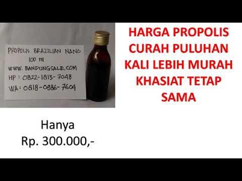 Agen Propolis Brazilian Curah Bandung WA 081809867604