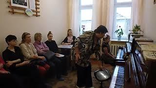 """Открытый урок """"Начальный донотный период работы с начинающими игре на фортепиано"""""""