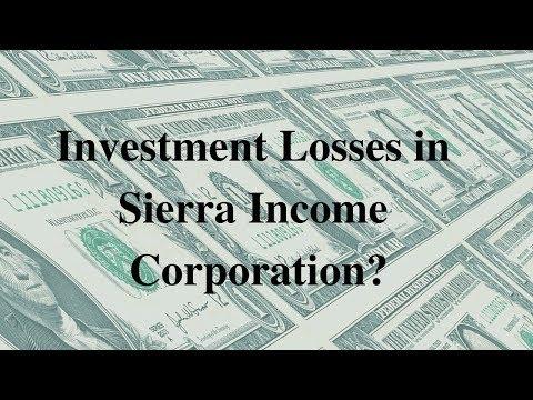 Sierra Income Corporation Investigation