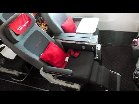 TRIP REPORT | Austrian Airlines NEW PREMIUM ECONOMY | B777-200ER | NRT-VIE