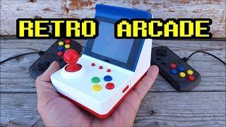 NES & Famicom Retro Mini Arcade with 360 games Review
