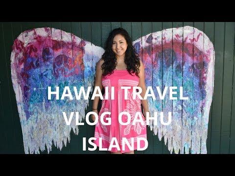 Hawaii Travel Vlog: Oahu Island, Honolulu, Waikiki Beach, Cage Diving W/ Sharks, Waterfall