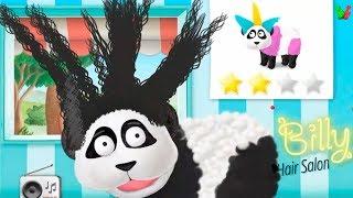 Весёлый ПАРИКМАХЕР #2 Причёски для Животных Мульт-Игра для Детей