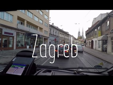 Running errands in Zagreb