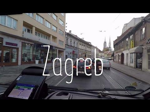 Running errands in Zagreb