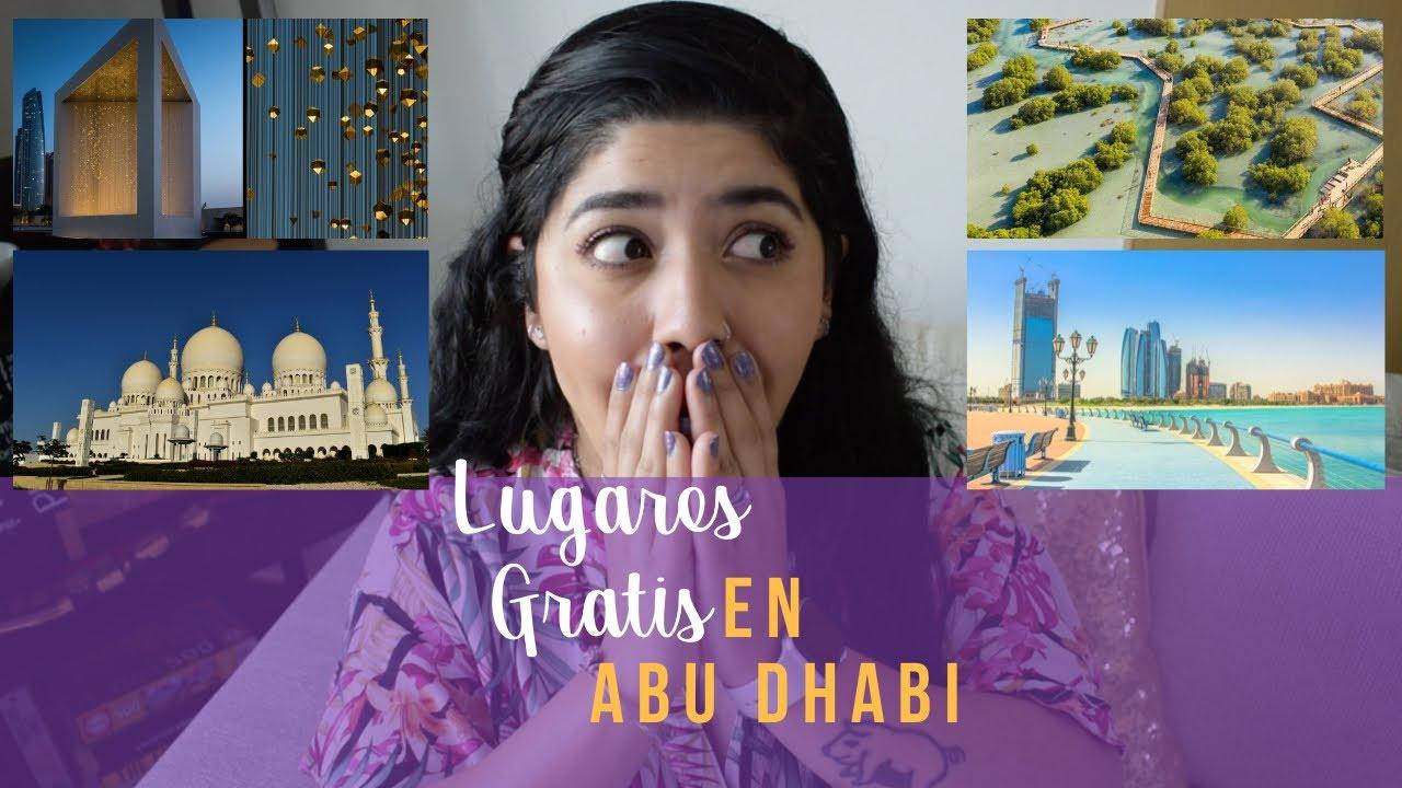 5 LUGARES QUE PUEDES VISITAR GRATIS EN ABU DHABI, UAE 🇦🇪 | PichosRide