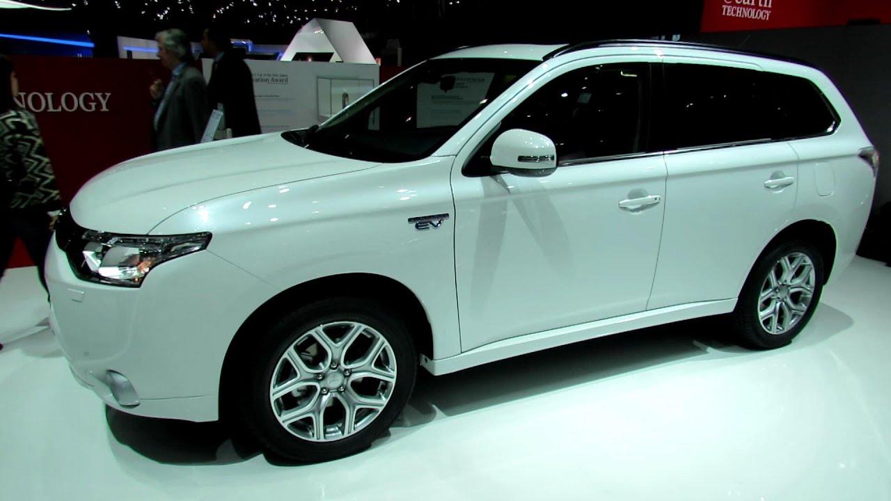 2014 Mitsubishi Outlander Phev 4x4 Exterior And Interior