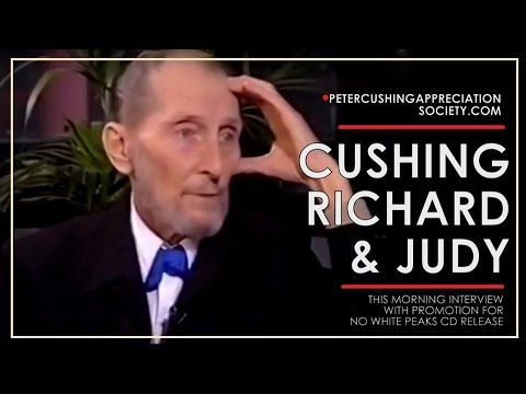 Peter Cushing On Richard and Judy (1991)