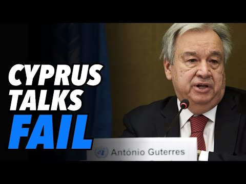Cyprus Talks fail as Erdogan pushes two state solution