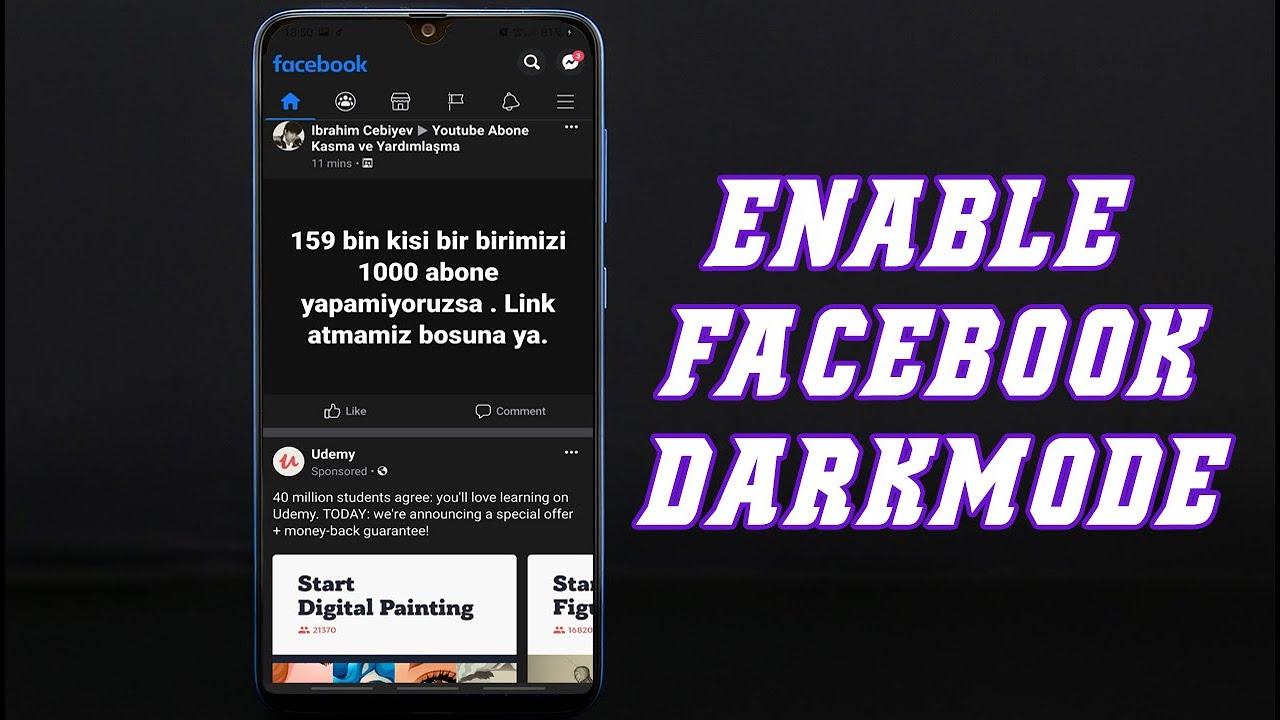 Facebook Dark Mode Aktivieren