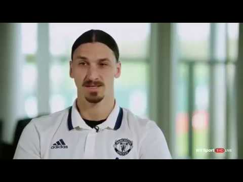"""Lions don´t compare themselves with humans"" - Zlatan Ibrahimovic interview"