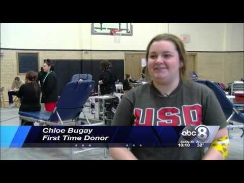 Lincoln Northeast High School Blood Drive