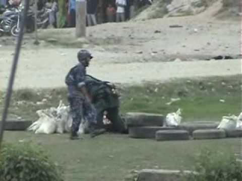 Bomb in Lokanthali