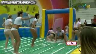 Repeat youtube video Brazilian Women's Hot Football Game