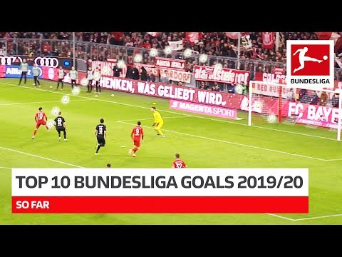 Top 10 Best Goals 2019/20 So Far - Coutinho, Witsel, Brandt & More