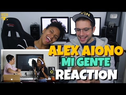 Alex Aiono (ft. Diamond White) - Havana, Mi Gente, & Hips Don't Lie Mashup | REACTION