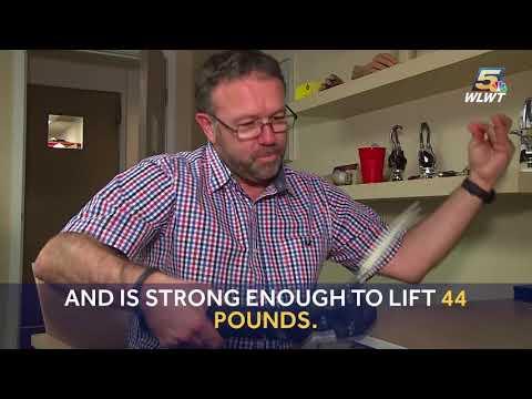 Cincinnati man tests out world's first waterproof robotic hand