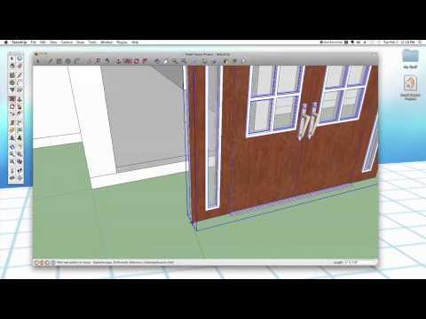 Sketchup #26 Advanced Doors \u0026 Windows & Sketchup #26: Advanced Doors \u0026 Windows \u2014 Harwood Podcast