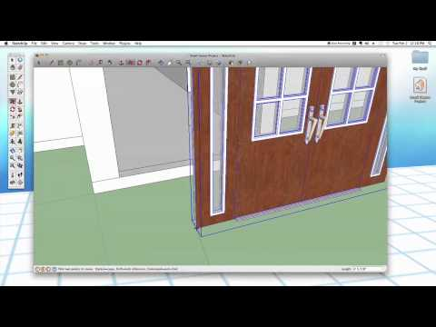 Sketchup #26: Advanced Doors & Windows