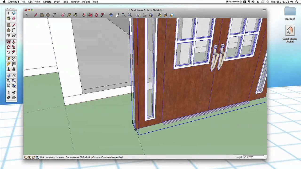 sc 1 st  YouTube & Sketchup #26: Advanced Doors u0026 Windows - YouTube