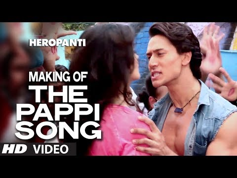 Making of The Pappi Song | Heropanti | Tiger Shroff, Kriti Sanon | Manj Feat: Raftaar