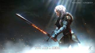 Epic Powerful Vocal Music: HERO | by Elbroar (Lyrics)