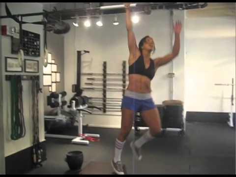 Nadia Shatila's 100 Pull-ups in 2:53