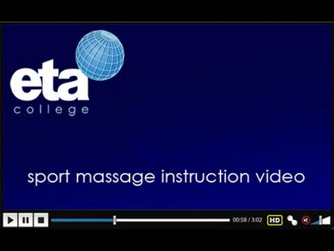 eta sport massage instructor