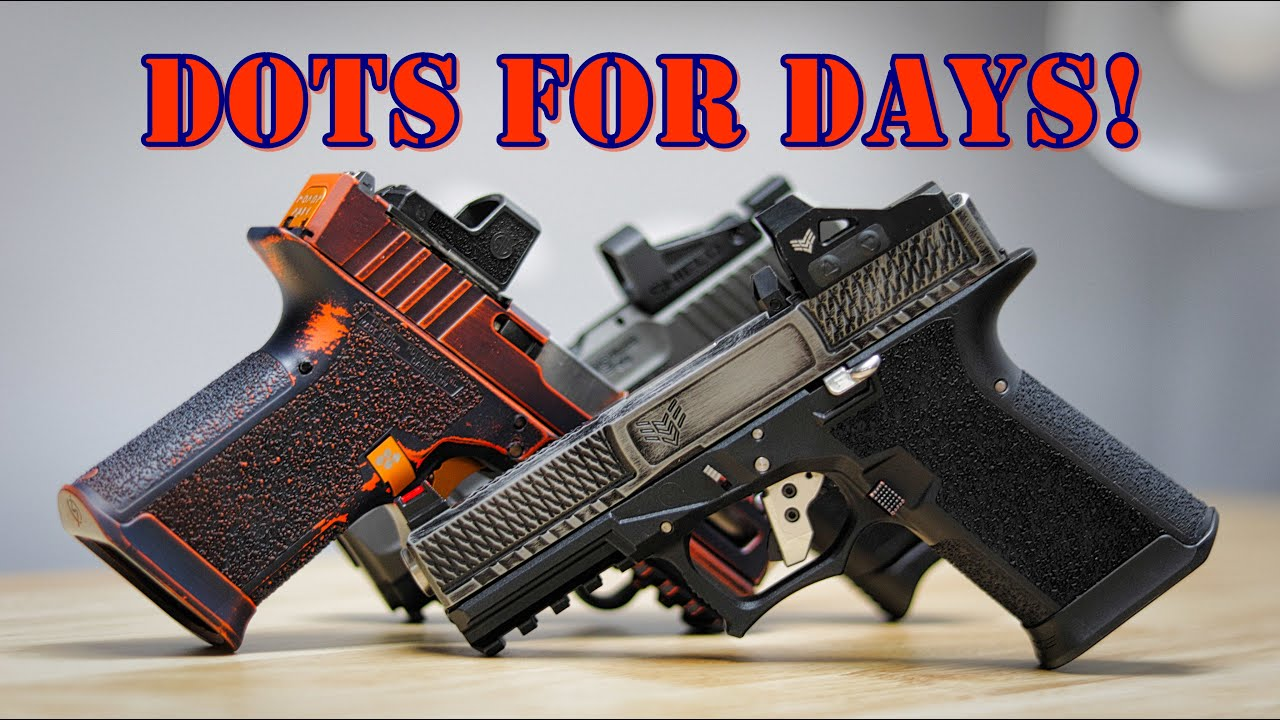 Range Day Red Dots: Swampfox Sentinel Sig RomeoZero Shield SMS2
