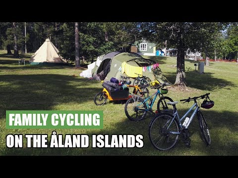 Family Bike Touring on Åland - Days 5 and 6