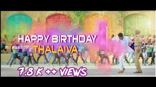 Thalapathy birthday special video | The spot light production | Chottu Ajith