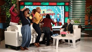 Ellen Superfans Get 12 Days Surprise