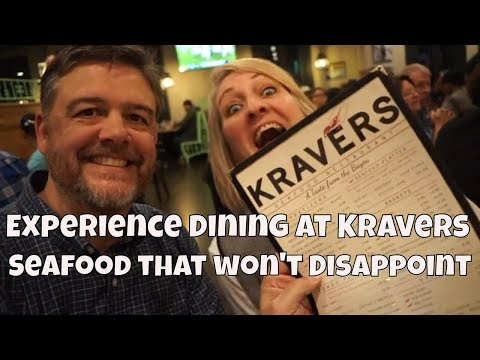 Eating Out At Kravers Seafood Restaurant In Mobile, AL