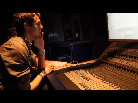Mike Gatto - studio backstage recording Too Old To Club part 1/2