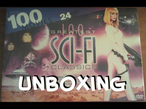 100 Greatest Sci-fi Classics DVD Unboxing