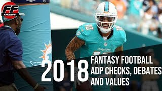 2018 Fantasy Football ADP Check: Mid-Round Debates, Steals and Values | NFL News