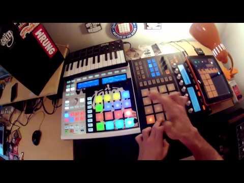 Téhu-Loop Session #21 on Maschine MK2