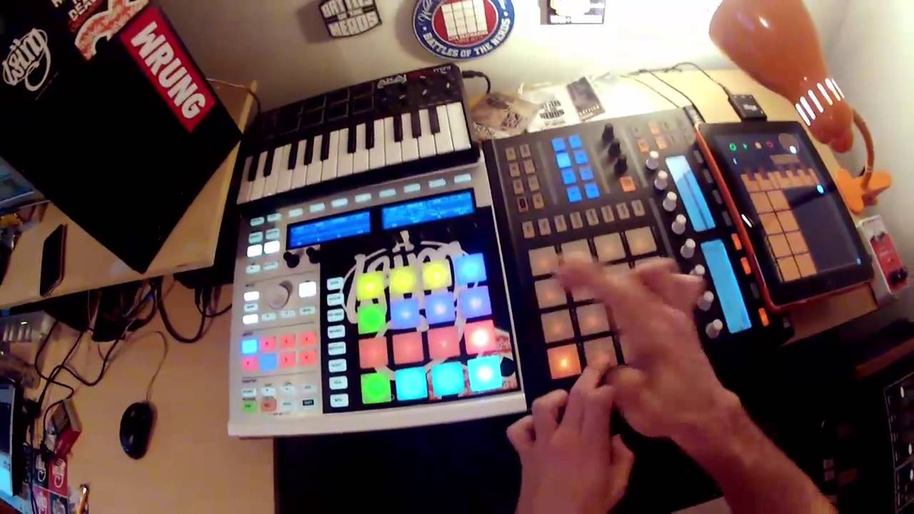 how to make it so maschine pads more sensitive