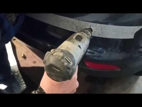 Форд фокус 3 (хэтчбек) установка и подключение заднего парктроника
