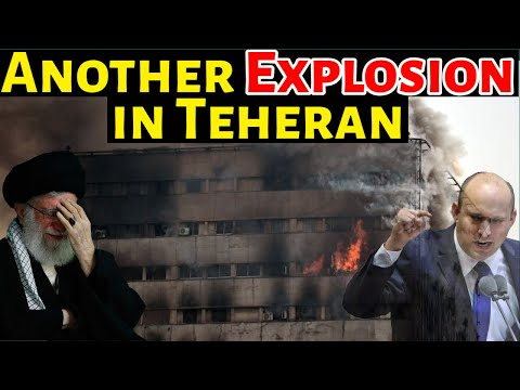 Another EXPLOSION Reported At Office Building In Tehran