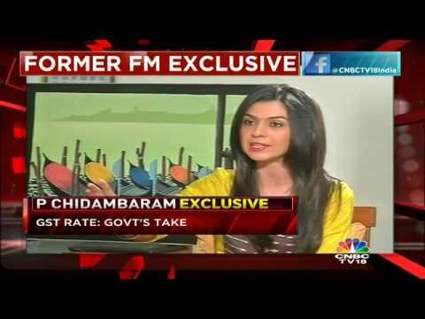 P Chidambaram Exclusive, Part 1