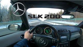2004 Mercedes-Benz SLK 200   R171   Winter TEST Drive
