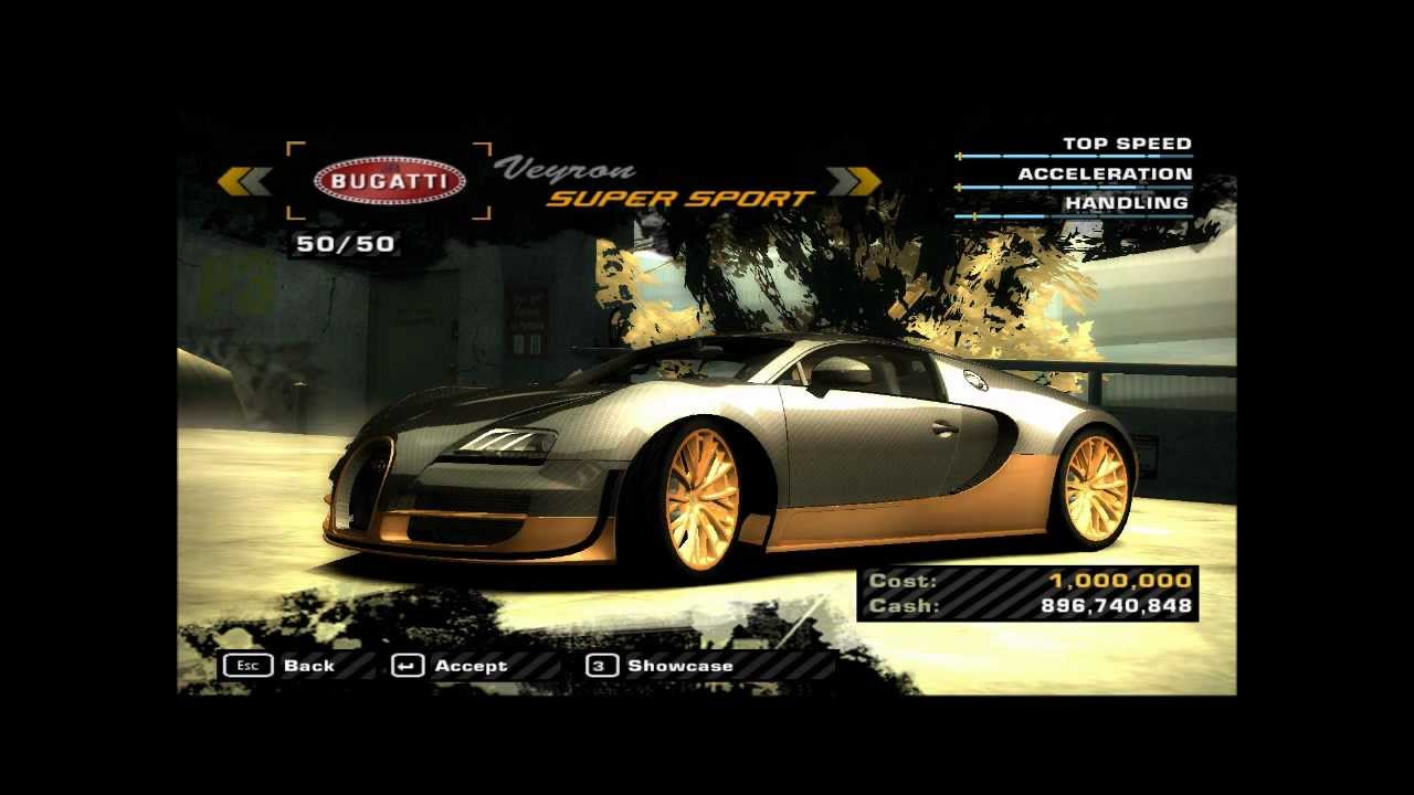 Need for Speed Most Wanted (my) Shop Cars - YouTube