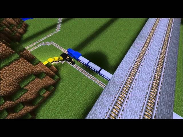 Minecraft Train Set