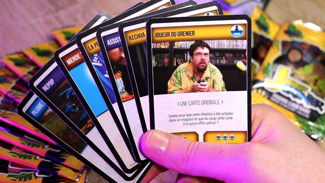 jeu de carte joueur du grenier JEU DE CARTES JOUEUR DU GRENIER : on découvre avec Fred !   YouTube