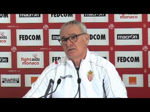 "Claudio Ranieri: Sochaux vor Abstieg? ""Glaube nicht"" | AS Monaco - FC Sochaux"