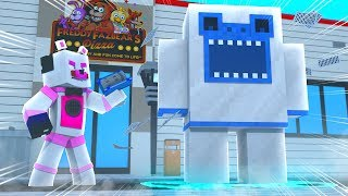 Funtime Freddy Summons A Monster! Minecraft FNAF Roleplay