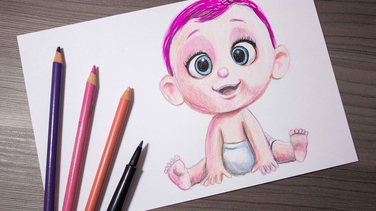 Cómo Dibujar Bebe Cigueñas │Storks│La Historia Que No Te