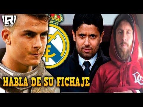 DYBALA HABLA de su FICHAJE por el REAL MADRID | PSG ROBA CRACK al BARCLEONA | VIAJE de MESSI